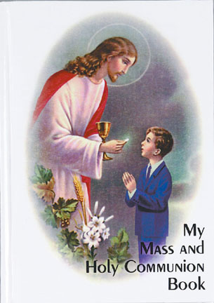 Boy First Holy Communion Book