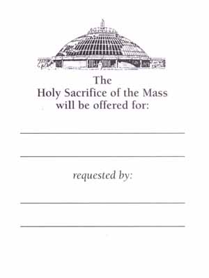 Mass (Date Unannounced) - Click Image to Close