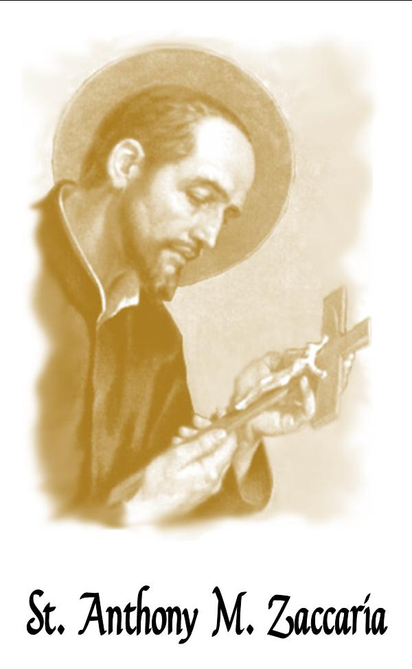 ST ANTHONY M ZACCARIA