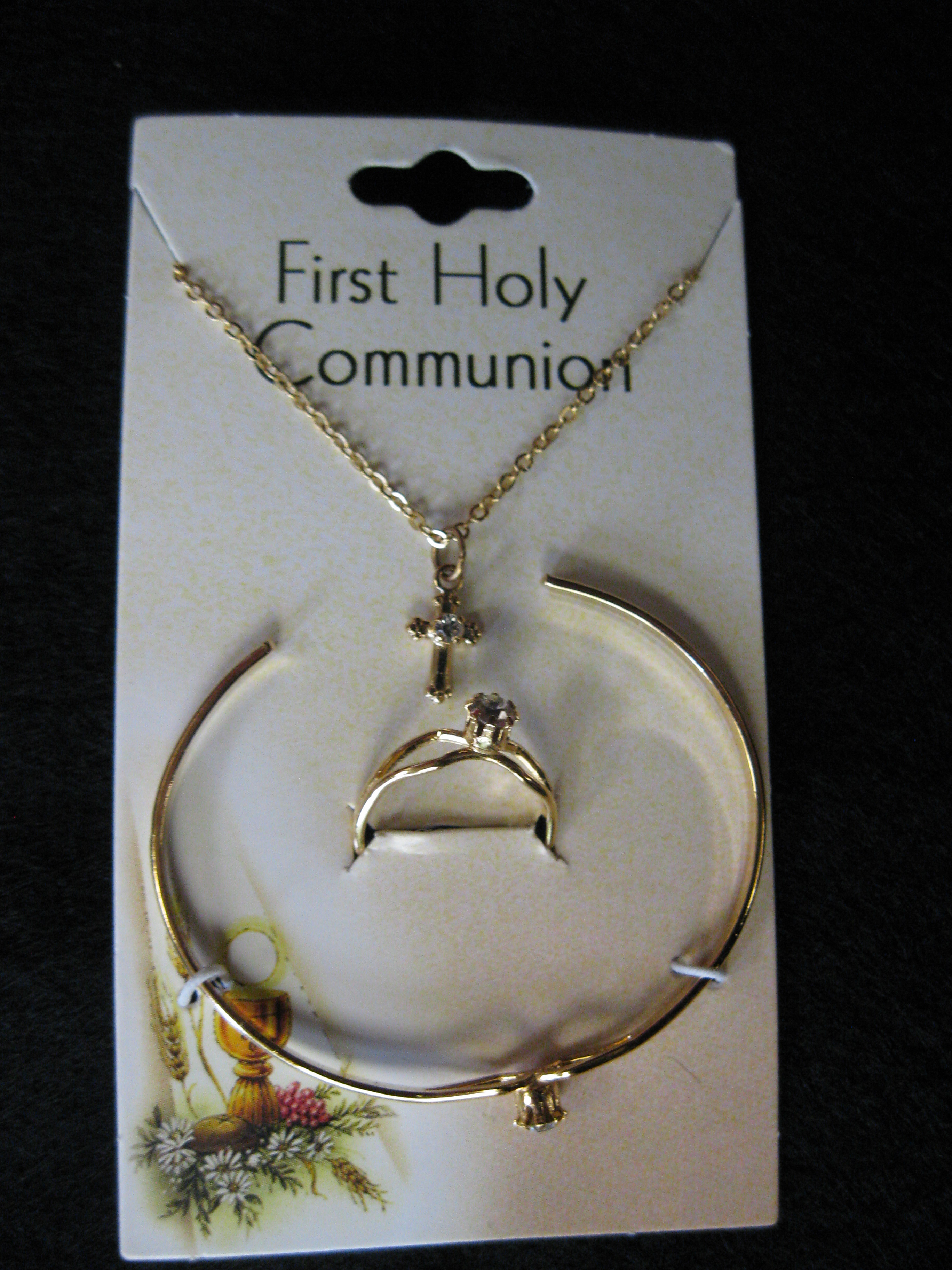 First Holy Communion Jewelry Set
